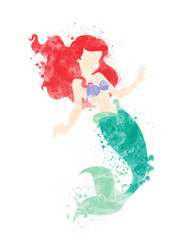 The Little Mermaid Inspired Characters