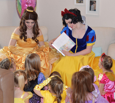 Belle and Snow White Inspired Characters - Lubbock