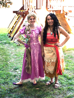 Rapunzel & Moana Inspired Characters