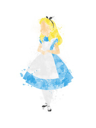 Alice in Wonderland Inspired Characters