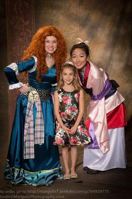 Merida & Mulan Inspired Characters