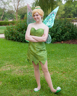 Tinker Bell Inspired Character - Lubbock