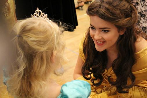 Belle Inspired Character - Lubbock