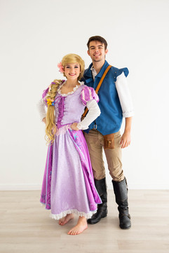 Rapunzel & Flynn Inspired Characters