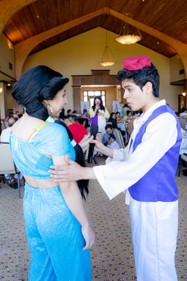 Aladdin Inspired Characters