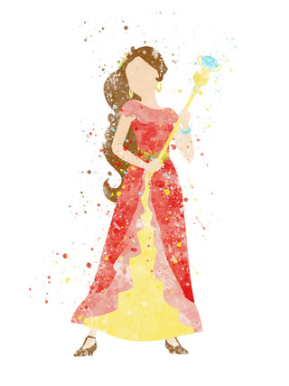 Elena of Avalor Inspired Characters