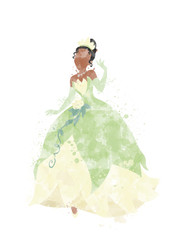 Princess and the Frog Inspired Characters