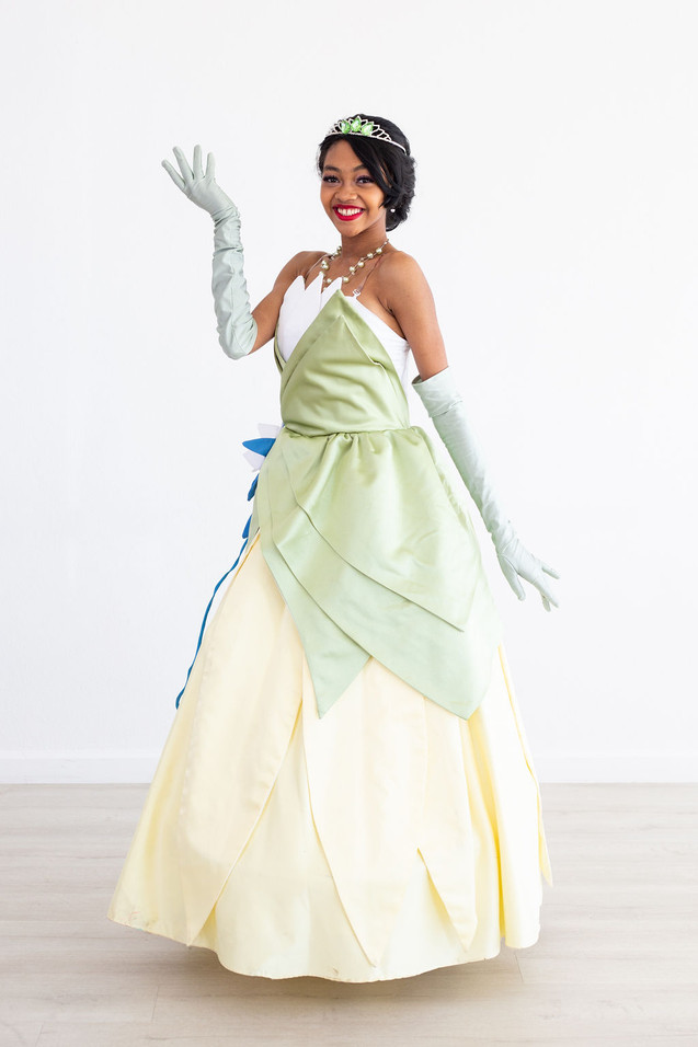 Tiana Inspired Character