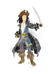 Pirates of the Caribbean Inspired Characters