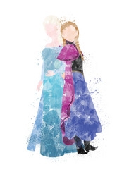 Frozen Inspired Characters