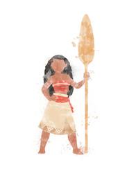 Moana Inspired Characters