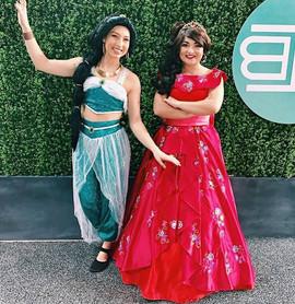 Jasmine and Elena Inspired Characters