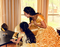 Beauty - Gold Dress