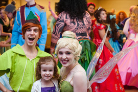 Peter Pan & Tink Inspired Characters