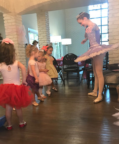 Mini Ballet Lesson
