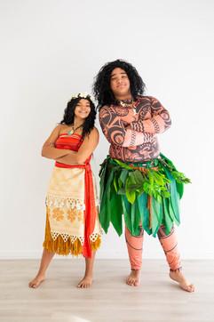 Moana & Maui Inspired Characters