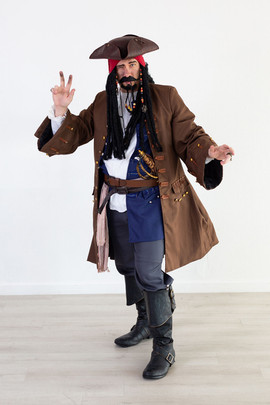 Captain Jack Sparrow Inspired Character