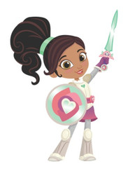 Nella the Princess Knight Inspired Character