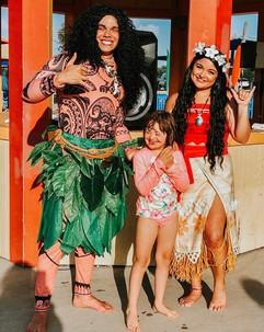 Maui & Moana Inspired Characters
