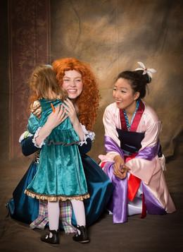 Celtic Princess & Chinese Princess