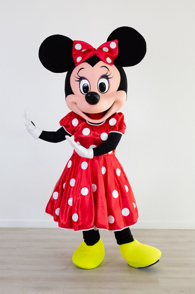 Girl Mouse Character