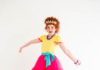 Fancy Nancy Inspired Character