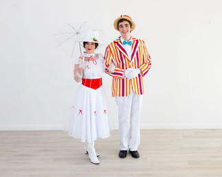 Mary Poppins & Bert Inspired Characters