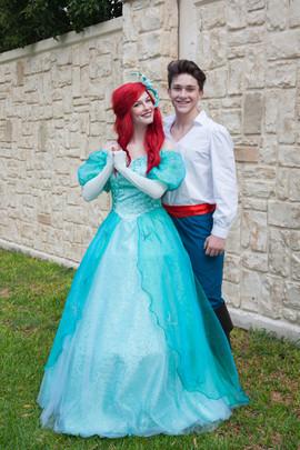 Land Mermaid & Sailor Prince