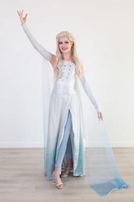 Frozen 2 Elsa Inspired Character (white dress #2)