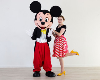 Boy Mouse Character & Magical Attendant