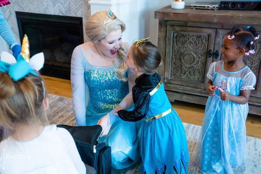 Elsa Inspired Character
