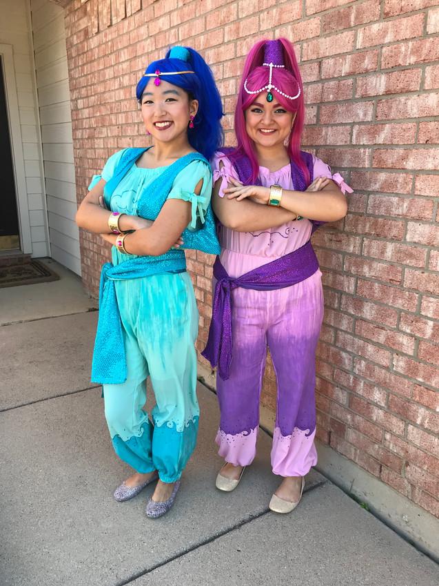 Shimmer & Shine Inspired Characters