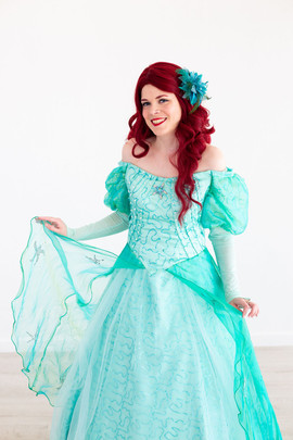 Ariel Inspired Character (dress)