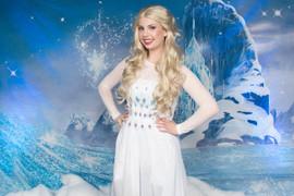 Frozen 2 Elsa Inspired Character (white dress #3)