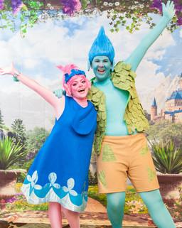 Poppy & Branch Trolls Inspired Characters
