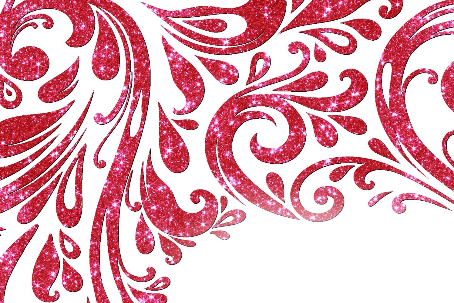 rouge rubis foncé scintillant