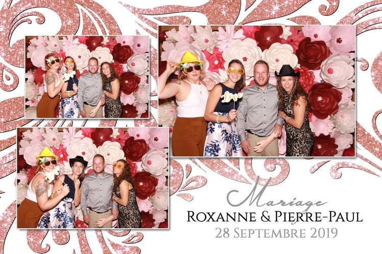 Montage Photobooth Mariage Roxanne  & Pi