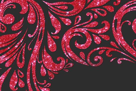 Rouge foncé brillant