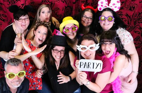 Photobooth - Party de fin de saison 2017-18 Association de Ringuette Repentigny