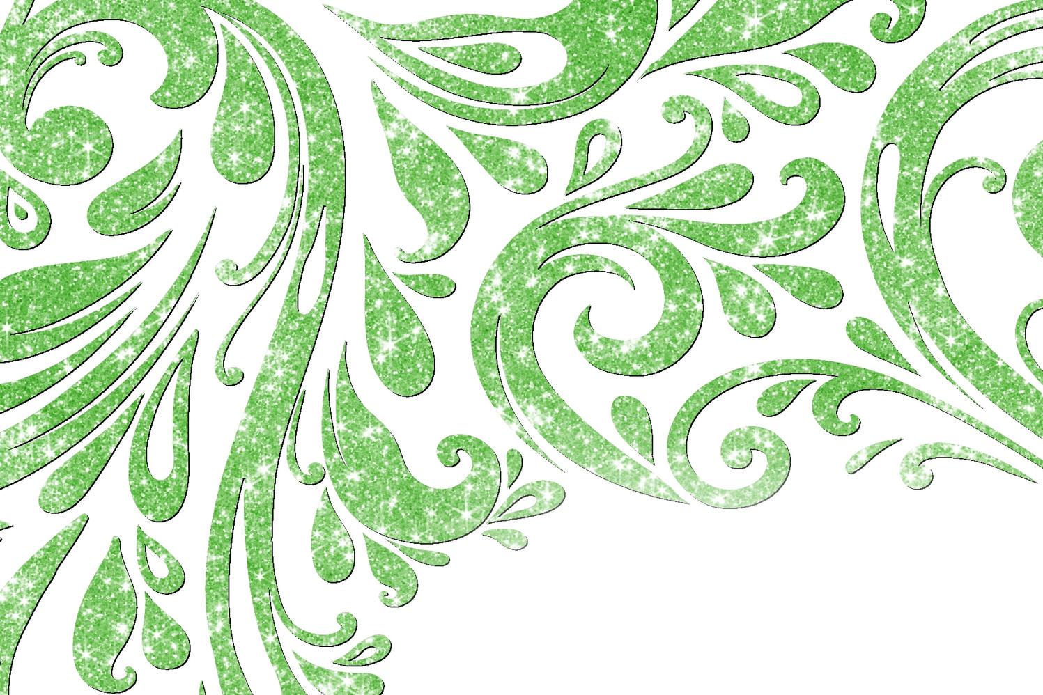 Vert scintillant