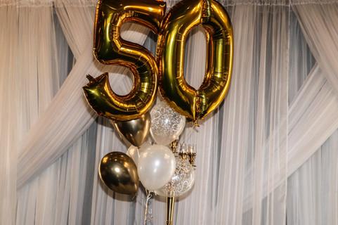 50e anniversaire de mariage de Réal et Francine Therrien