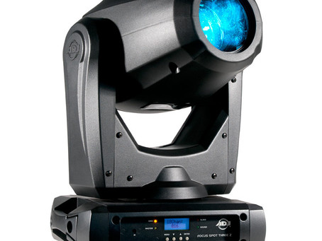 Éclairages haut de gamme '' moving head '' de 100 watts, ADJ Focus Spot Three Z
