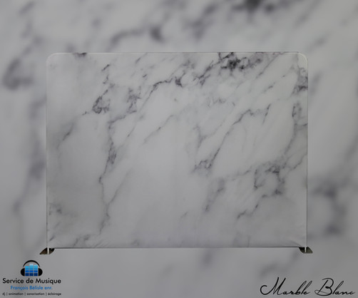 Toile Marble Blanc