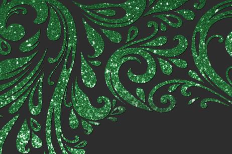 Vert émeraude brillant