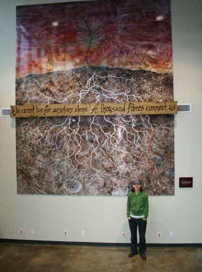 Metal Mural