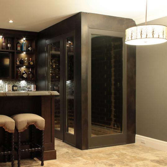 Wine Room Panels
