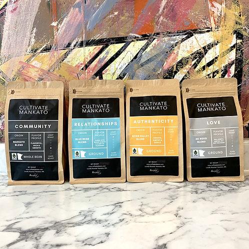 Cultivate Mankato Coffee 4-Pack Sampler
