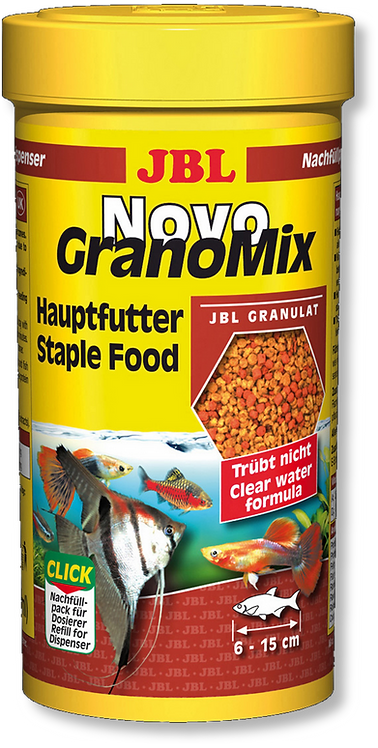 JBL Granomix Staple Tropical Fish Food Refill 115g
