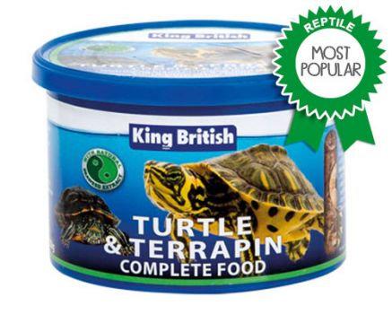 KB Turtle Food Complete & Food sticks pack