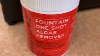 One shot Fountain algae remover